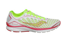 saucony Women&#039;s ProGrid Kinvara 3 white/citron/pink